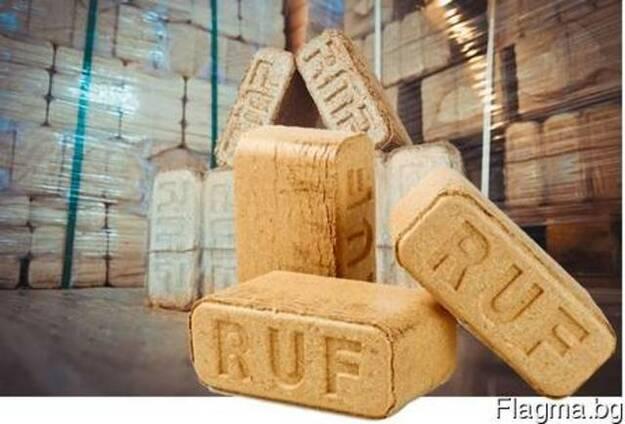 Брикети за огрев RUF