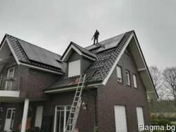 Монтаж солнечных батарей - фото 3