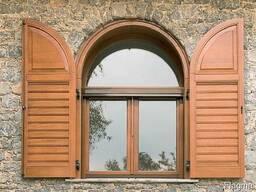 Окна и двери из еробруса