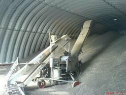 Зернохранилища стальные арочные - металлические амбары