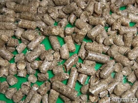 Агро-пелети от стебла рапица