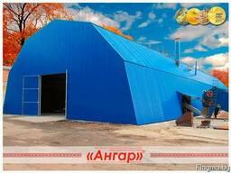 Ангары быстромонтируемые арочные, шатровые, прямостенные - фото 2