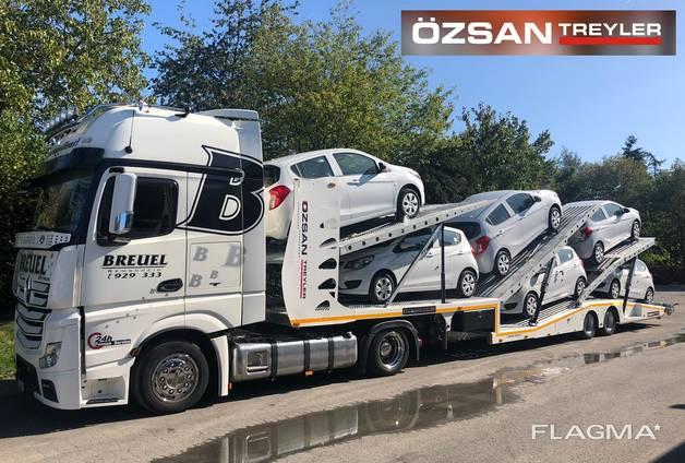 Автовоз для автомобилей и легкого грузового транспорта