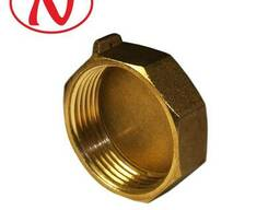 """Brass Cap for seal 1/2"""" F"""