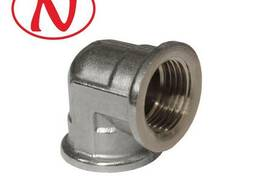 Brass Fitting 90 Elbow 3/4F-3/4M (Nikel) /HS