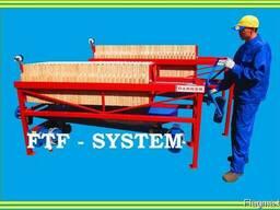 ФильтрФилтър за растително масло. FTF-system