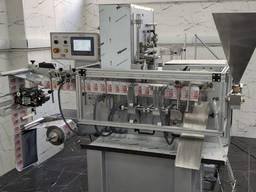Горизонтальная машина для упаковки влажной салфетки в саше