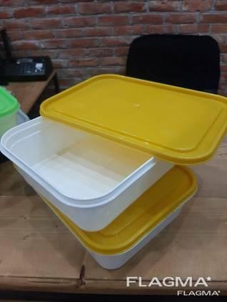 Лоток 1л пластиковый (контейнер)