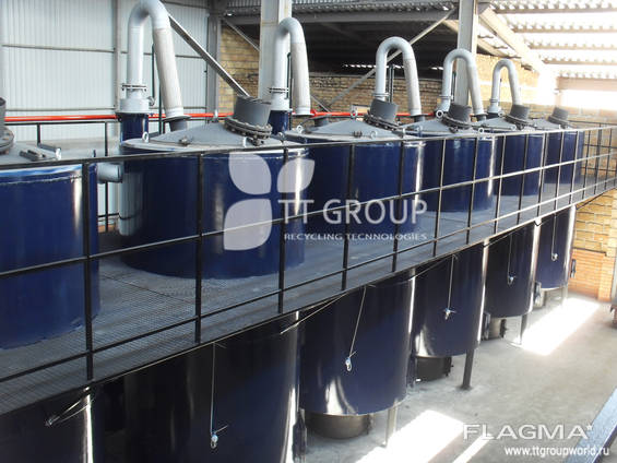 Мини-завод для переработки отходов в жид альтер топливо