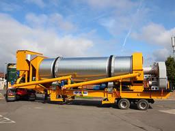 Нов мобилен завод за асфалт PARKER RoadStar 2000 (производителност - 160 т. ч. )