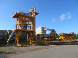 Нов завод за асфалт PARKER PLANT StarBatch C750 (в контейнери)