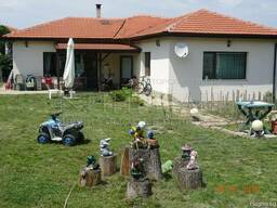 Одноэтажный новый дом в 16 км от Варны