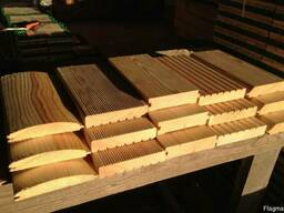 Planed timber, moldings, molded products