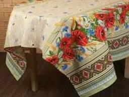 Скатерти, полотенца, фартуки, прихватки в украинском стиле - фото 4