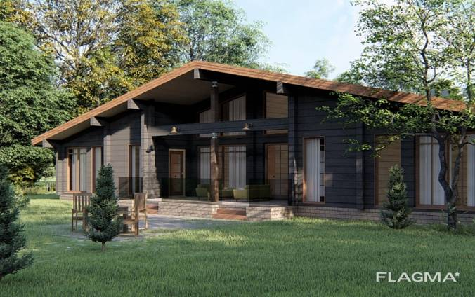 Строим дома из клееного бруса по всей Болгарии