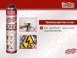 Строительный клей для теплоизоляции Teplis Spiderweb 1000мл - фото 7