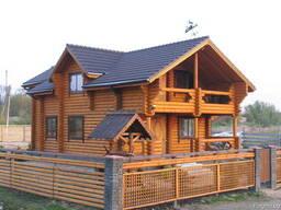Строительство деревянных домов из бревна и бруса. - photo 1