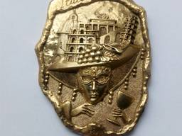 Сувениры из бронзы. Брелоки, статуэтки, напёрстки, магниты. - фото 3