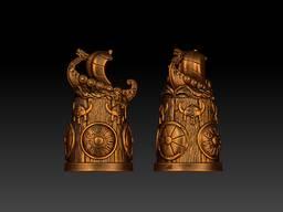 Сувениры из бронзы. Брелоки, статуэтки, напёрстки, магниты. - фото 8
