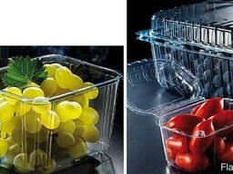 Упаковка для ягод , клубники , яиц, мяса, фрукты прозрачная