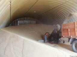 Зернохранилища стальные арочные - металлические амбары - фото 3